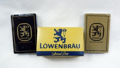 Vintage Lowenbrau Beer Case Playing Card Set