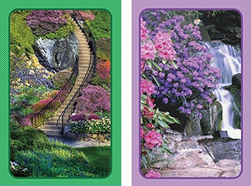 Garden Stairway Bridge Playing Cards Jumbo Index Playing Cards