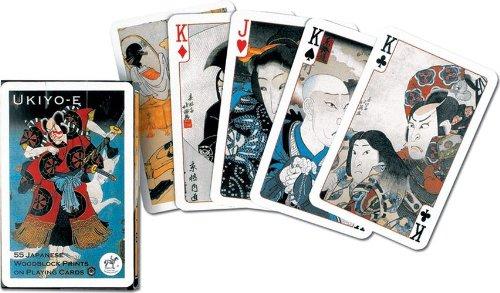 PIATNIK UKIYO-E BRIDGE PLAYING CARDS