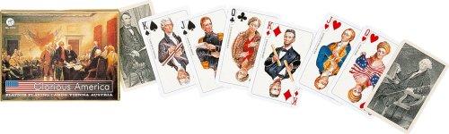 Piatnik Glorious America Double Deck Bridge Playing Cards