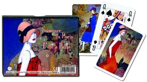 Piatnik Summer In Paris Bridge Playing Cards