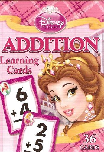 Disney Princess Addition LearningFlash Cards Lite Pink Box