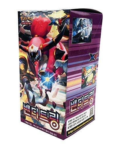 POKEMON CARD XY Bandit Ring Booster Box  Korean Ver  30 Booster Pack