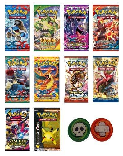 Pokemon Cards - 4 Booster Packs Random packs From XY Newer Set