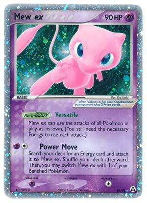Pokemon Card - Legend Maker 8892 - MEW EX Holo-foil