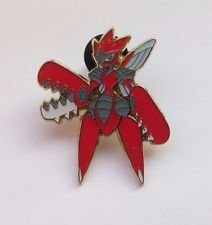 Pokemon Trading Card Game XY BREAKpoint Mega Scizor Limited Edition Collector Pin  League Badge 175 Inch