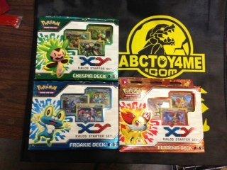 Pokemon Trading Card Game - XY Kalos Starter Set of 3 Decks