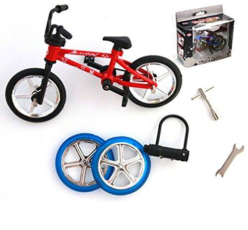 Queshark Extreme Sports Alloy Mini Finger Bike BMX Professional Diy Finger Bicycle Toys Suit Kits Kids Child Novelty Christmas Gift