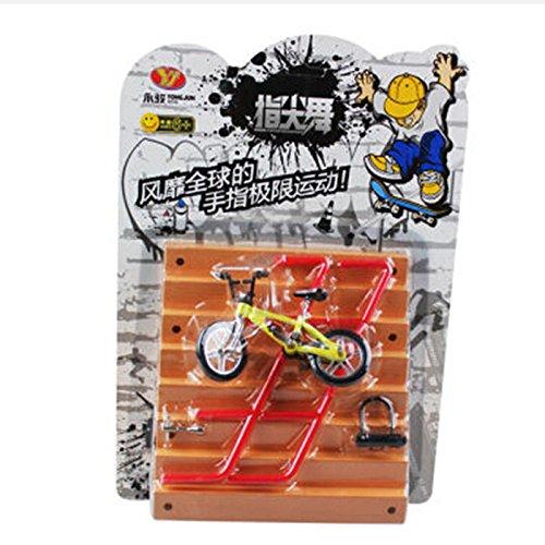 Remeehi Mini Finger Bikes and Stair Skateboard Ramp Set
