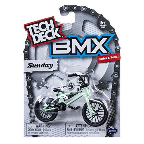 Tech Deck - BMX Finger Bike - Sunday - Cyan