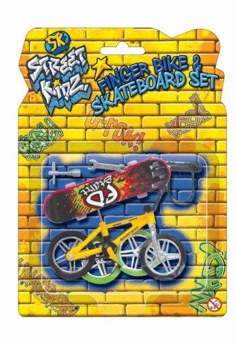 Toy Set Finger Bike Board Skateboard With Skate Accessories Set