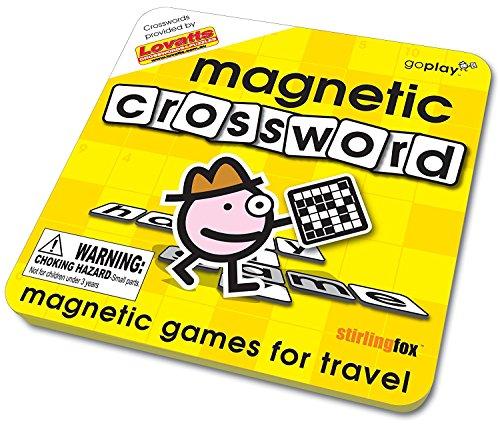 Crossword Magnetic Travel Game