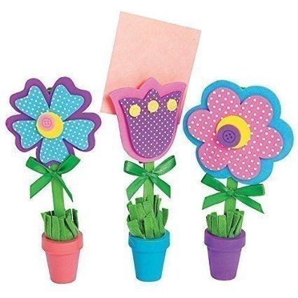 Flower Recipe or Picture Holder Craft Kit12 sets