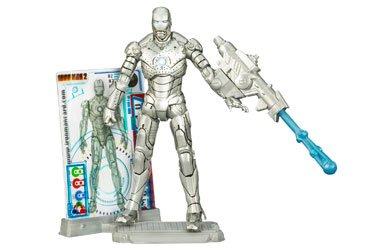 Marvel Iron Man 2 Action Figure 02 Mark II Iron Man 375 Inch