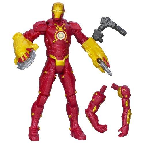 Marvel Iron Man 3 Assemblers Crosscut Iron Man Figure