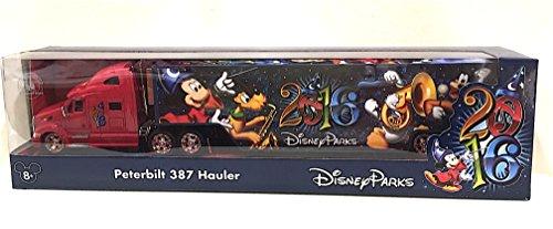 Disney Parks 2016 Peterbilt 387 Hauler Diecast Model Truck NEW