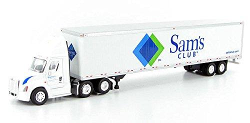 SAMS CLUB Tractor Freightliner w Trailer TONKIN 187 Diecast Truck HO Scale