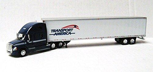 TRANSPORT AMERICA FREIGHTLINER CASCADIA TONKIN 187 Diecast Truck HO Scale by Trucks N Stuff
