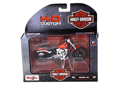 2016 Harley-Davidson Breakout Orange - Maisto 31360-36 - 118 Scale Diecast Model Toy Car