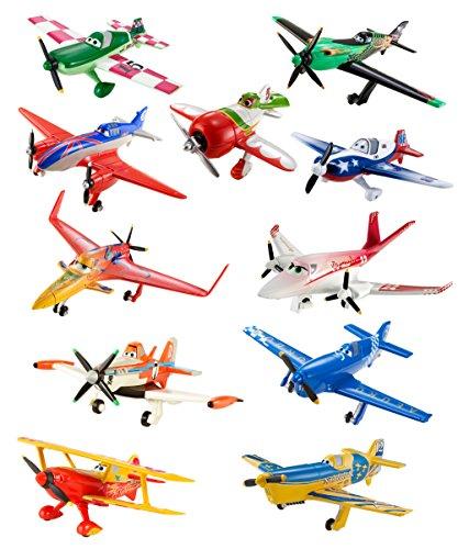 Disney Planes Diecast Plane Collection 11-Pack