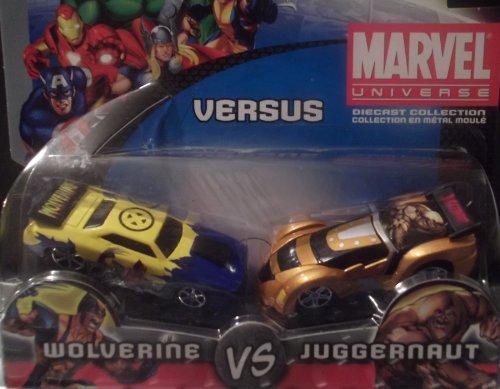 Marvel Universe Wolverine Vs Juggernaut 164 Diecast Collection