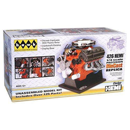 Hawk 14 scale 426 Dodge Street Hemi engine diecast model kit