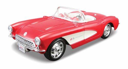 Maisto 124 Scale Assembly Line 1957 Chevrolet Corvette Diecast Model Kit