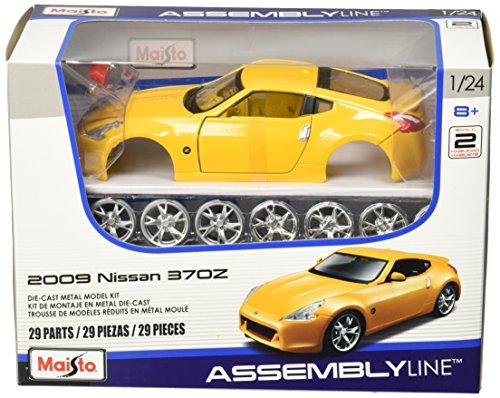 Maisto 124 Scale Assembly Line 2009 Nissan 370Z Diecast Model Kit