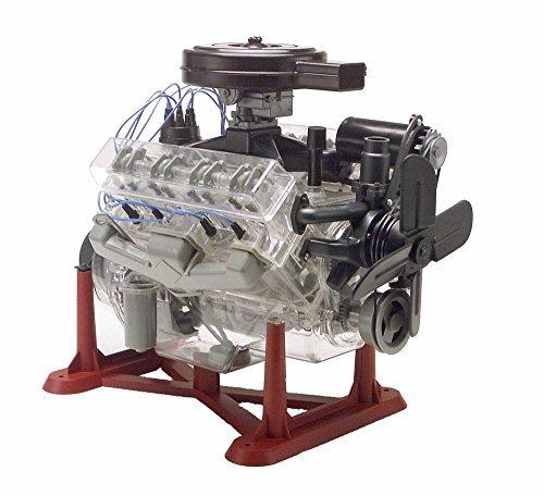 Revell Monogram 14 Scale Visible V-8 Engine Diecast Model Kit by Revell-Monogram