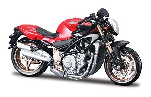 AGUSTA Brutale ORO Burago Diecast Motorcycle Model 118 Scale Collctibale