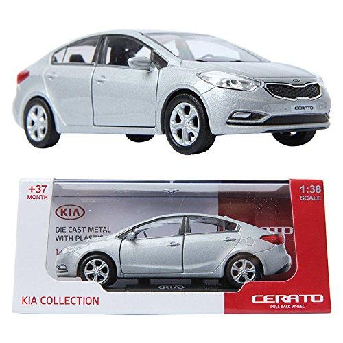 PINO B&D KIA CERATO 138 Die-cast Miniature Display car Silver Color TOY