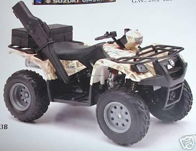 Suzuki Vinson Auto 500 4x4 Sand 112 Scale Diecast ATV By Newray by NewRay