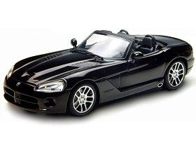 2003 Dodge Viper SRT-10 Black 143 Diecast Model Car Autoart