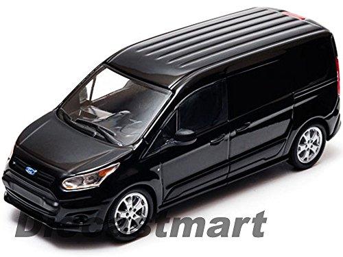 2014 FORD TRANSIT CONNECT V408 BLACK 143 DIECAST MODEL CAR GREENLIGHT 86045