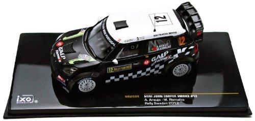 Mini Cooper WRC - 2012 Rally of Sweden - 12 A Araujo 143 diecast model by ixo