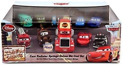 Disney Cars 143 Diecast Car 11-Pack Radiator Springs Deluxe Set