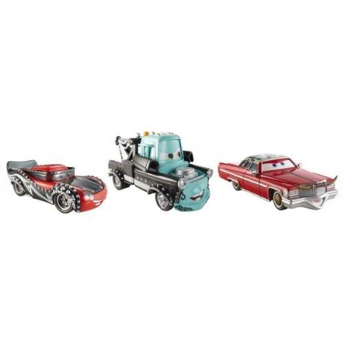 Disney  Pixar CARS Movie Exclusive 3-Piece 155 Scale Die Cast Set Heavy Metal Mater Eddie Heavy Metal Mater Rocky