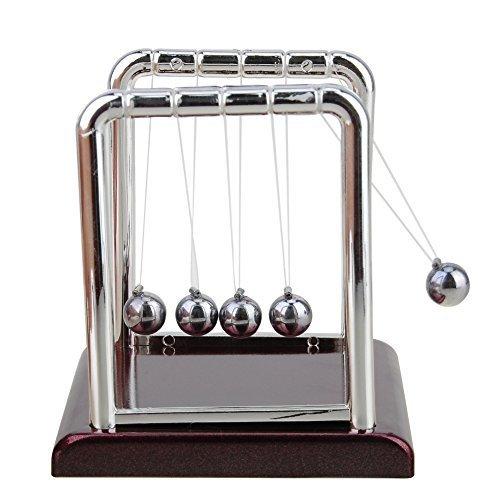 Kingtoys 531449496 Inch Newtons Cradle Metal Balance Ball