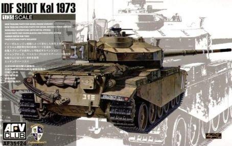 AFV Club IDF Shot Kal 1973 Centurion Mk51 135 Scale Military Model Kit