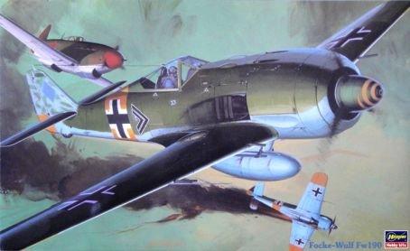 Hasegawa Focke-Wulf Fw 190 132 Scale Military Model Kit