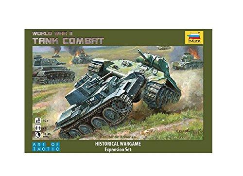 Zvezda Models Tank Combat Historical Wargame Board Game