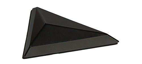 Black Pinewood Derby Tungsten Triangle Weight