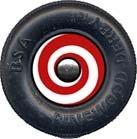 Hypnotic Pinewood Derby Car Wheel Decal