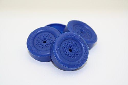 Pinewood Derby Speed Wheels - Derby Dust Black Ops - Blue