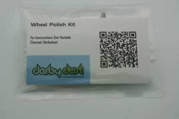 Pinewood Derby Wheel Polish Kit - Derby Dust