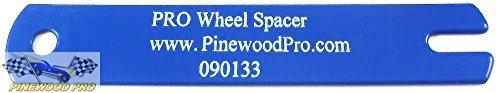 Pinewood Derby Wheel Spacer Gauge by Pinewood Pro