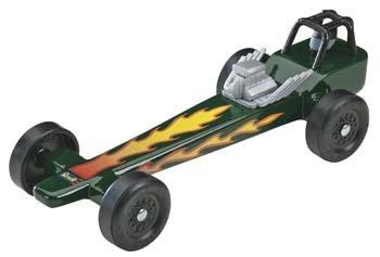 Revell Pinewood Derby Dragster Racer Kit