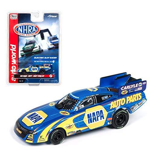 Auto World NHRA Funny Cars NAPA Ron Capps 4 Gear Electric Slot Car SC325 NEW