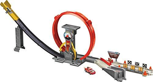 Disney and Pixar Cars XRS Rocket Racing Super Loop Race Set with Lightning McQueen