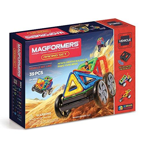 Magformers Vehicle Racing Set 39-pieces